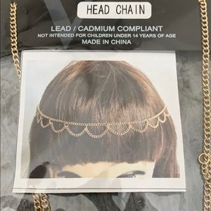 Gold head chain